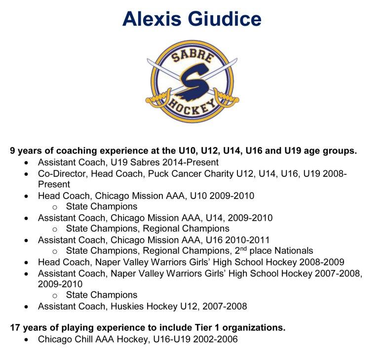 Alexis Giudice Bio