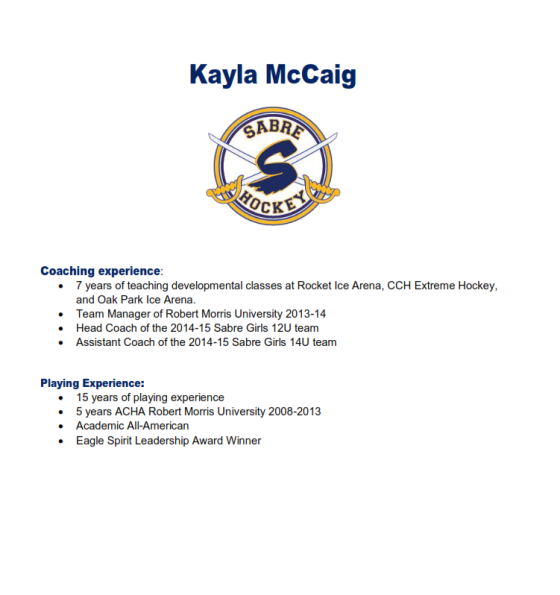 Kayla McCaig Bio