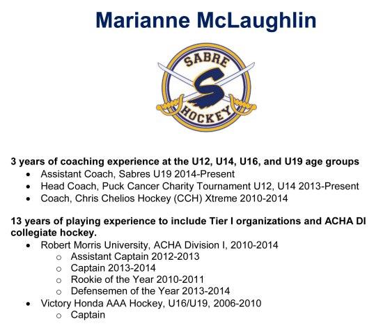 Marianne McLaughlin Bio