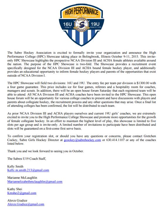 Fall HPC Invite