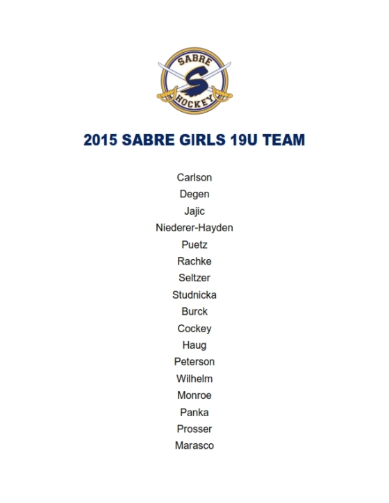 2015 SABRE GIRLS 19U TEAM_001
